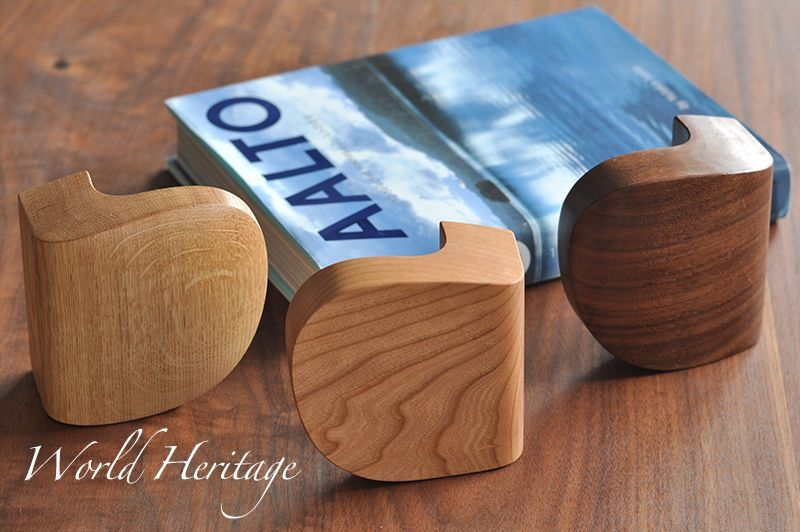 World Helitage Wooden Door Handle